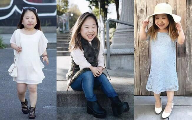 Além de falar de moda, a blogueira Doris Jeong também faz vídeos no YouTube listando o que nunca falar para um anão