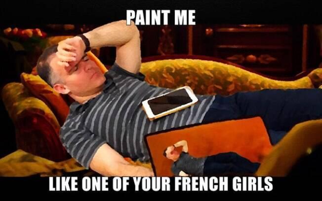 Desenhe-me como uma de suas francesas...