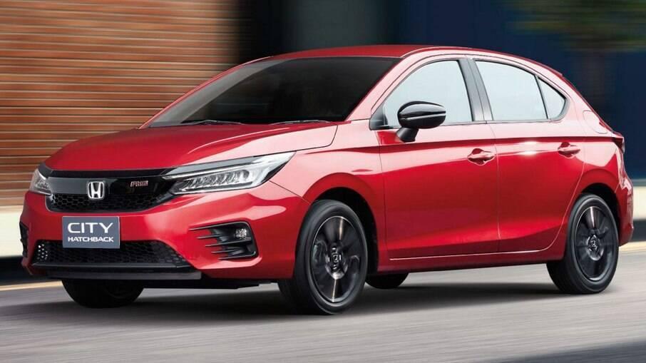 Nova geração do Honda City marca a entrada da fabricante japonesa na categoria dos hatches compactos
