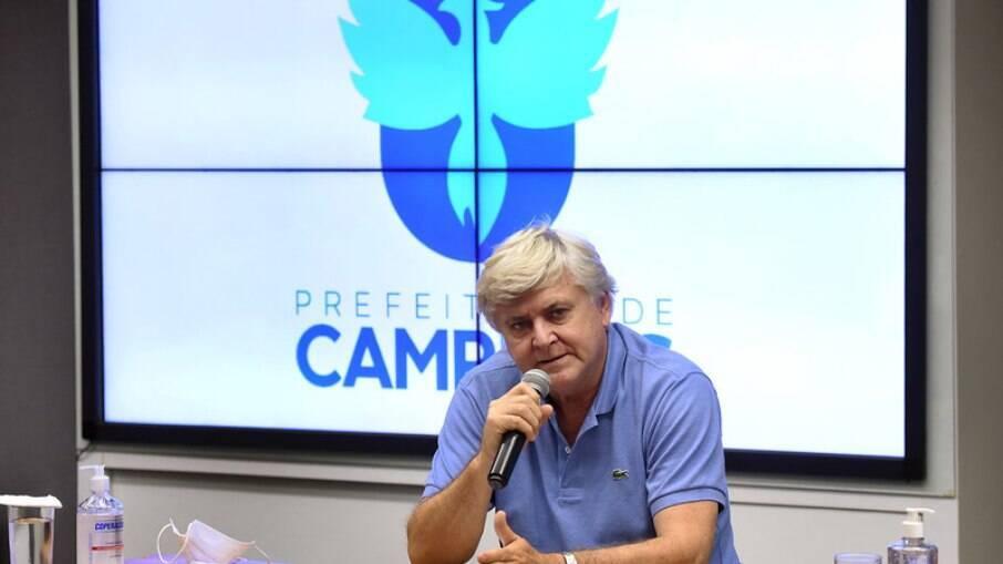 Lair Zambon, secretário de Saúde de Campinas.