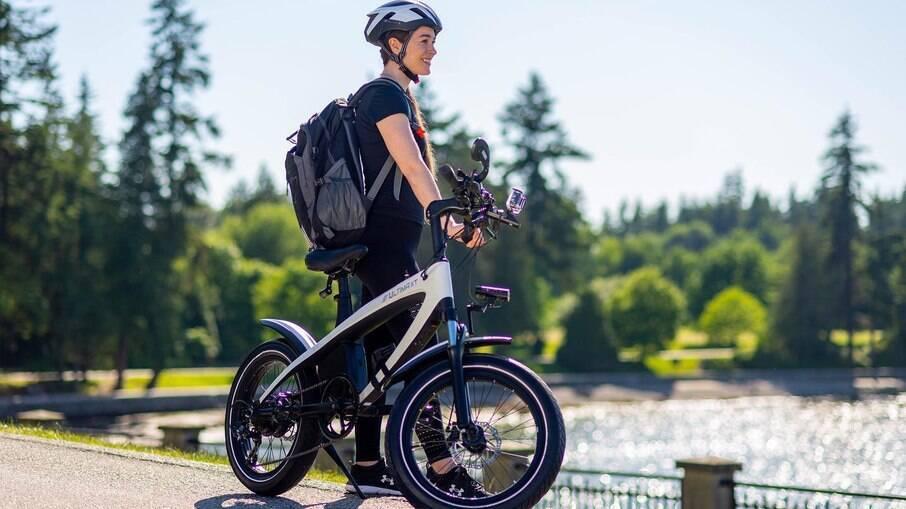 A bicicleta elétrica Ultima será entregue aos clientes só a partir de 2022 com autonomia de até 80 quilômetros