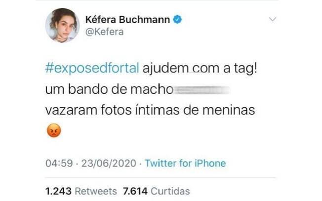 A youtuber Kéfera se pronunciou sobre o caso