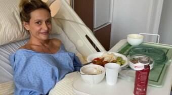 Luísa Mell faz cirurgia para reparar erros de lipo: