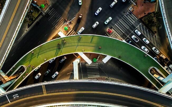 Xiamen Bicycle Skyway, na China, tem 8 km de extensão
