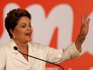 Brazil's President Dilma Rousseff, presidential candidate for re-election of the Workers Party (PT), talks about the results of the general elections during a press conference, in Brasilia, Brazil, Sunday, Oct. 5, 2014. Official results showed Sunday that President Dilma Rousseff will face challenger Aecio Neves in a second-round vote in Brazil's most unpredictable presidential election since the nation's return to democracy nearly three decades ago. (AP Photo/Eraldo Peres)