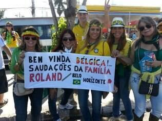 Família de descendência belga aposta em vitória dos europeus por 2 a 0
