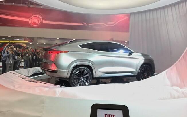 Fiat Fastback no Salão do Automóvel 2018, a primeira aparição do novo conceito ao público