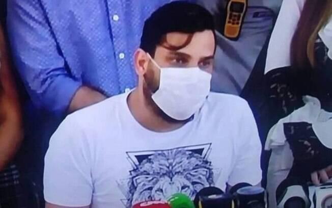 Cauan Máximo sai do hospital e diz que está curado da Covid-19