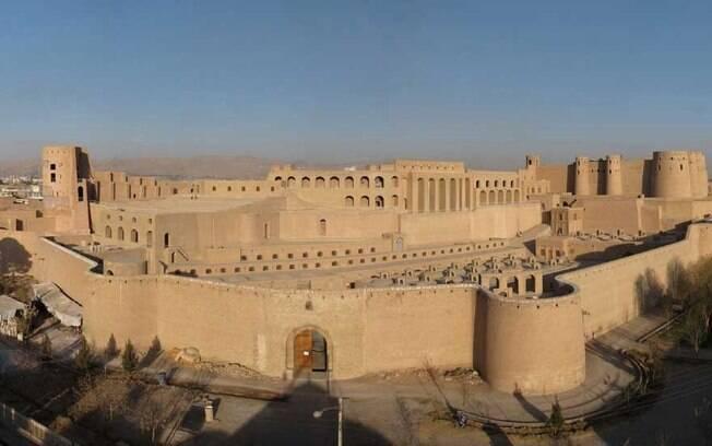 A citadela de Herat, Qala Ikhtyaruddin, no Afeganistão, foi restaurada ao longo de quase três anos