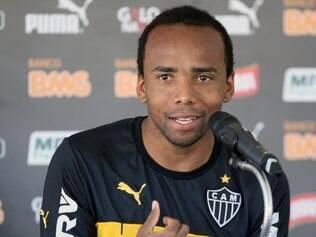 Esportes - Belo Horizonte - MG Treino do Atletico Mineiro um dia apos a vitoria no classico contra Cruzeiro.  Na foto: Marion  FOTO: FERNANDA CARVALHO / O TEMPO - 12.05.2014