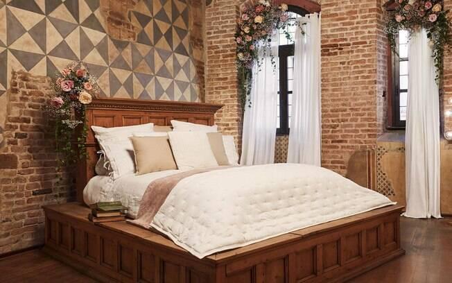A cama utilizada nas gravações do filme Romeo e Julieta, na década de 60, poderá ser usada pelo casal ganhador do prêmio
