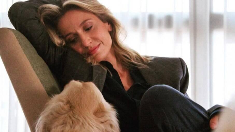 Luisa Mell e a cachorra que chama de anjo