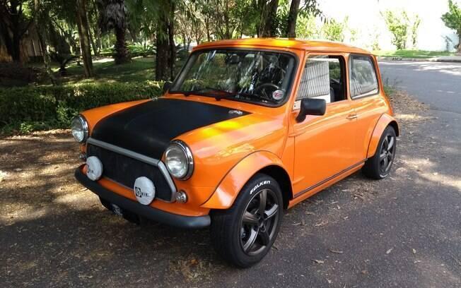 Mini Cooper réplica: O pequeno promete cansar até carros de grande porte, com motores maiores
