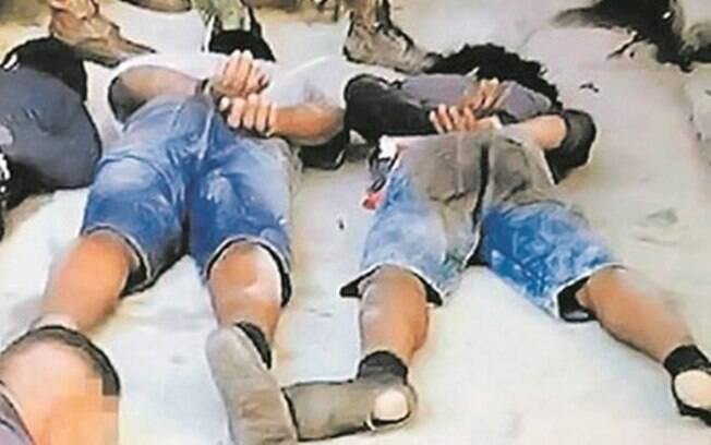 Grupo foi detido durante intervenção militar no Rio.