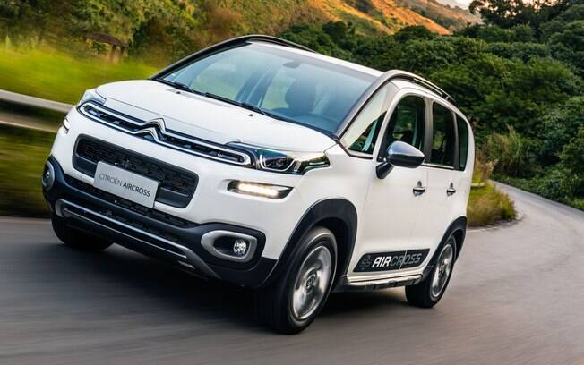Citroën Aircross é um dos carros de nicho que continua recebendo investimentos por parte da marca francesa