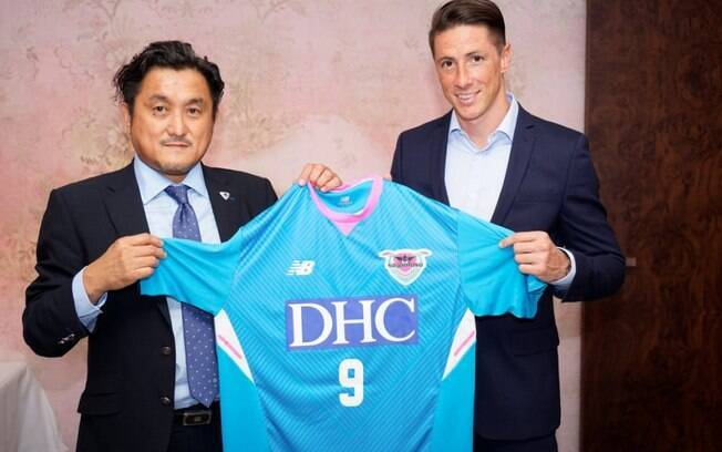 Fernando Torres é o novo reforço do Sagan Tosu, time da Primeira Divisão do futebol japonês