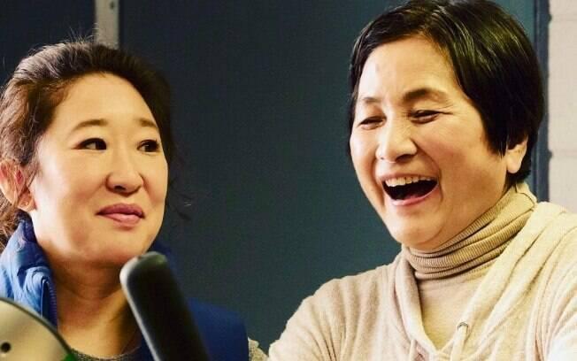 Sandra Oh e Cheng Pei Pei em Meditation Park