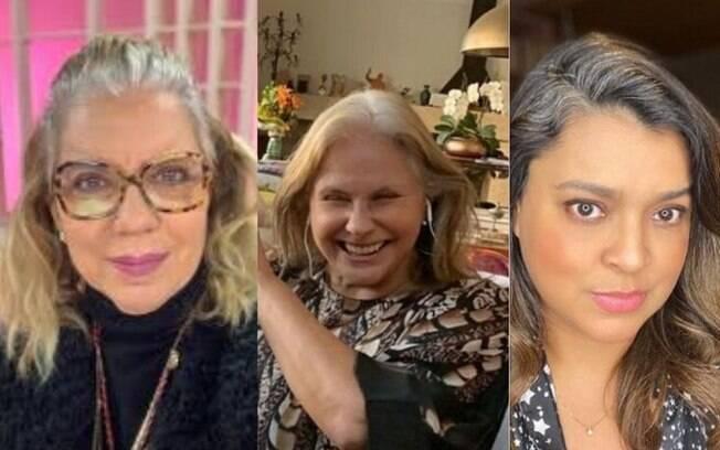 Astrid Fontenelle, Fafá de Belém e Preta Gil são algumas celebridades que assumiram os fios platinados