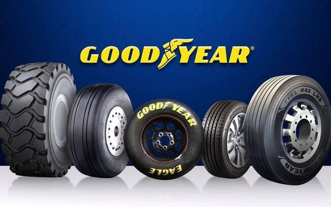 Com 100 anos de Brasil, a Goodyear é uma das marcas mais tradicionais do nosso mercado em diversos segmentos
