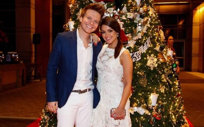 Michel Teló e Thaís Fersoza no Natal do Bem