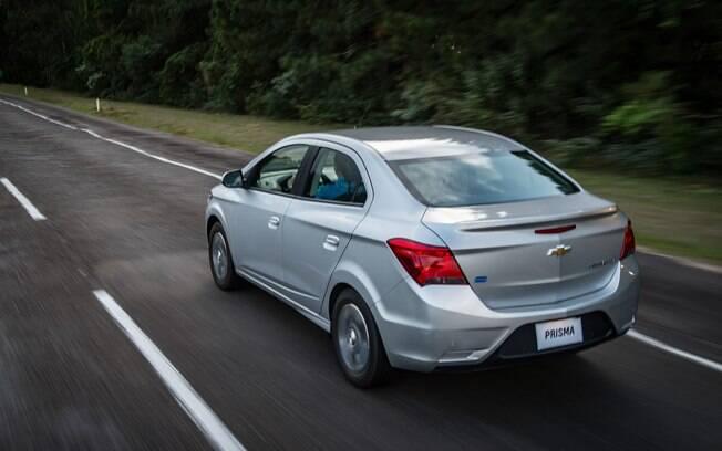 Chevrolet Prisma: atualmente é o sedã mais vendido do Brasil, mas a Volks e a Fiat já estão servidas de sedãs pequenos