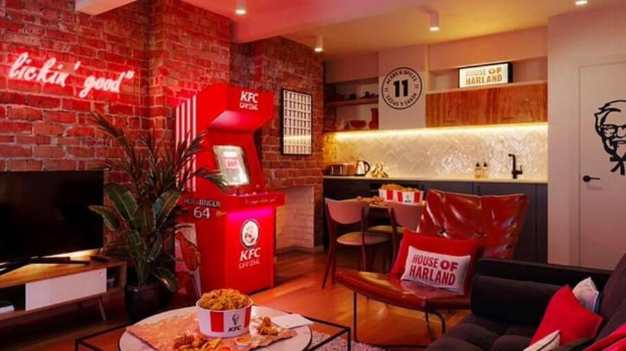 Hotel KFC, em Londres
