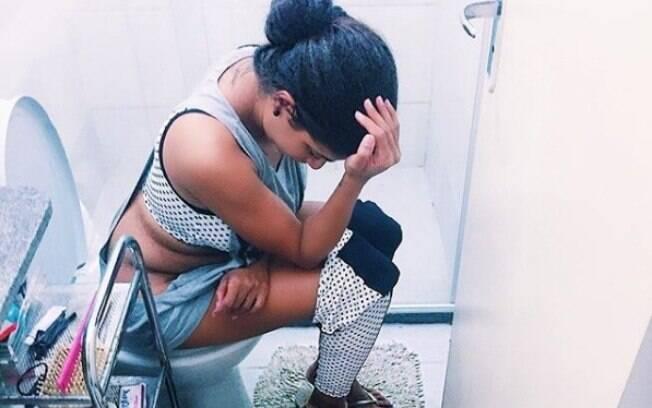 Brisa Ramos é mãe de primeira viagem e fez um desabafo contando que sente falta de coisas simples como ir ao banheiro