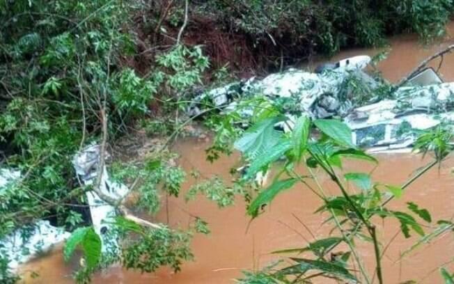 O avião saiu de Goioerê e tinha como destino o litoral do Paraná.