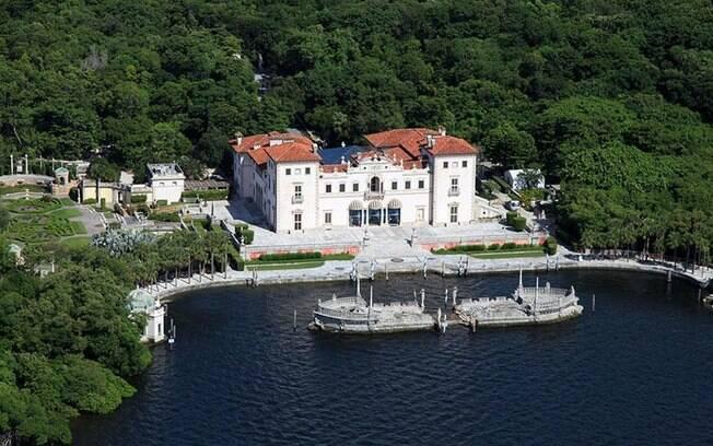 Apesar de funcionar como um museu, o Vizcaya Museum é, na realidade, uma antiga mansão com 34 cômodos