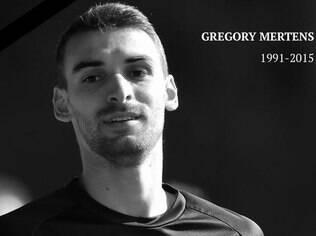 Gregory Mertens morreu aos 24 anos