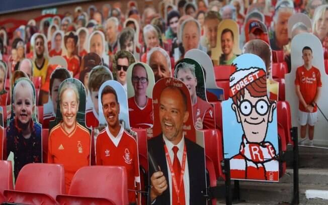 Famosos nos estádios ingleses