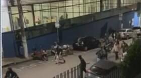 400 torcedores protagonizam briga em avenida de Diadema