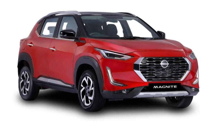 Nissan Magnite: será o modelo que entrará no lugar do March no Brasil, provavelmente apenas a partir de 2022