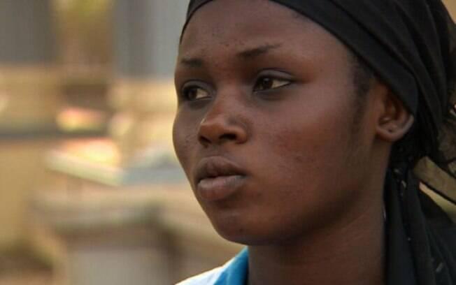 Abigail foi sequestrada pelo Boko Haram e ferida em uma ofensiva do Exército