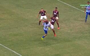 CSA vai pedir a impugnação de jogo contra o Flamengo por pênalti não marcado