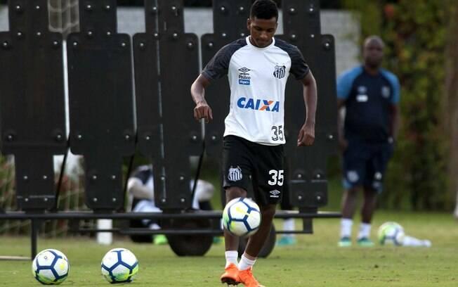 Rodrygo Goes, jovem joia do Santos, é considerado o novo Neymar