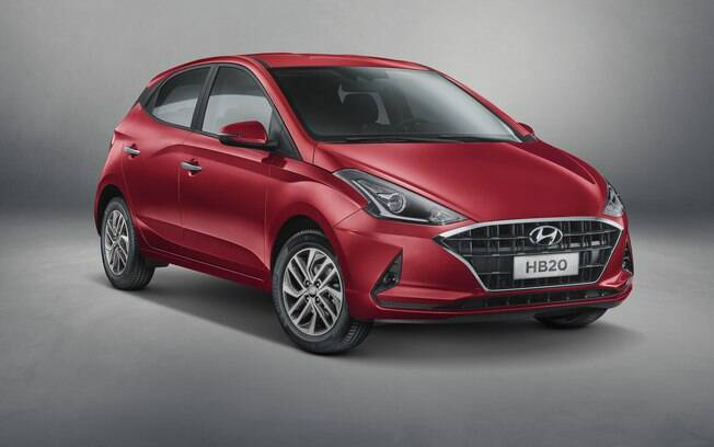 Hyundai revela a primeira imagem oficial do novo HB20, que segue o estilo da versão conceitual  da imagem acima