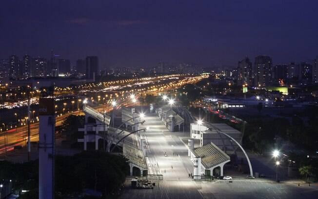 Sambódromo do Anhembi, em São Paulo