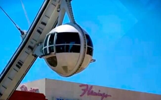 De acordo com a polícia, era possível ver em detalhes o que casal estava fazendo na roda-gigante