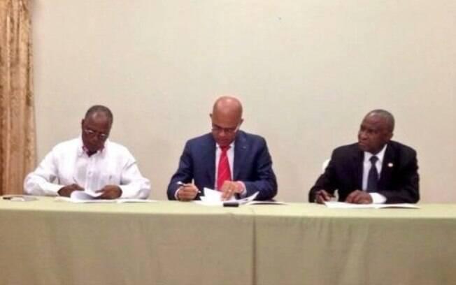 Organização dos Estados Americanos anunciou acordo para governo de transição no Haiti