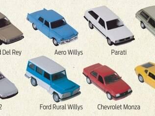 Os Assinantes de O TEMPO já podem adquirir a nova coleção com miniaturas de carros das décadas de 70, 80 e 90.