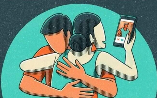 Homens e mulheres revelam uso de aplicativos, chats e 'sexting' sem o conhecimento de seus parceiros