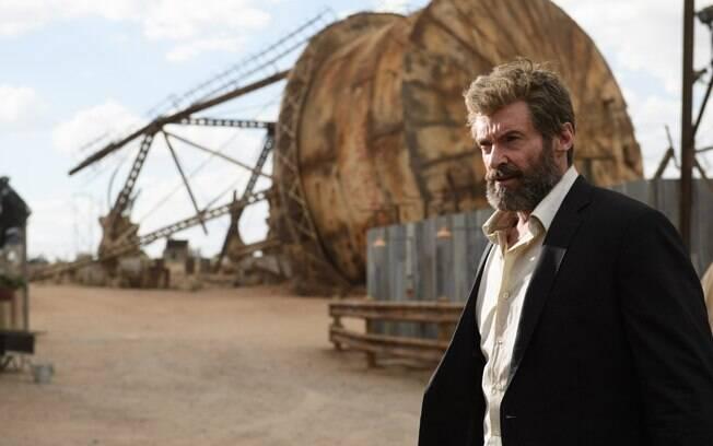 Cena do filme Logan estrelado por Hugh Jackman