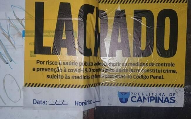 Guarda Municipal dispersa 800 pessoas em adega de Campinas