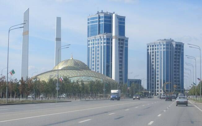 Grozny, capital da Chechênia