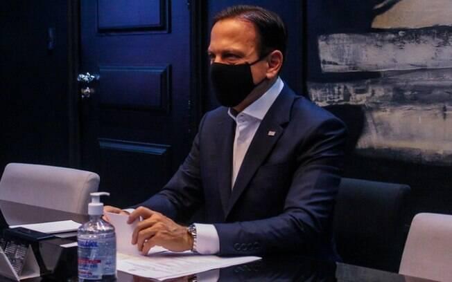 AO VIVO: Doria anuncia nova reclassificação da quarentena no Estado