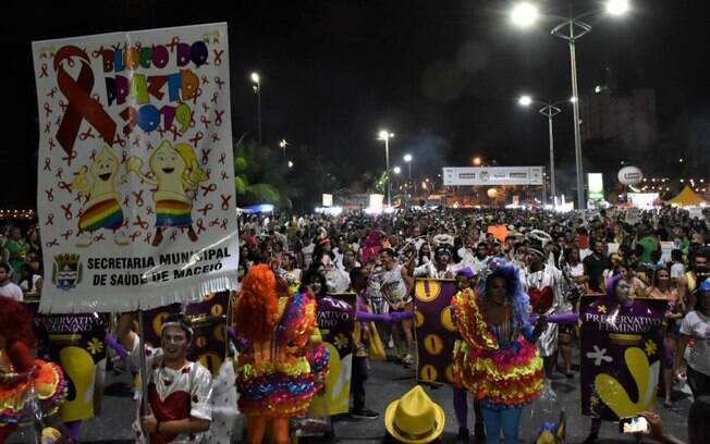 Bloco do Prazer, no carnaval de Maceió