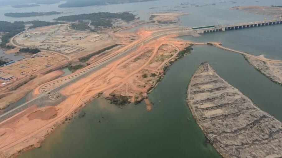 Sítio Pimentel. Segundo a Norte Energia, a usina Belo Monte está com mais de 87% das obras civis concluídas