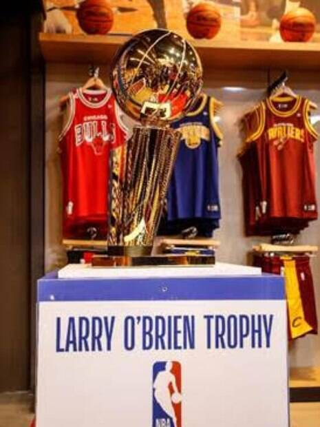 troféu larry o'brien