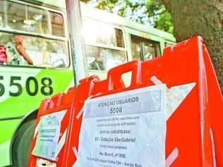 Linhas 5508 e 5523A não vão mais ao centro de Belo Horizonte